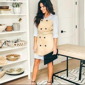 Trench coat dress DO+BE